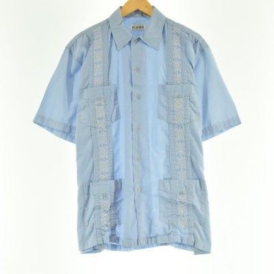 PLATOON 半袖 キューバシャツ メンズL 【中古】 【200626】 /eaa051112