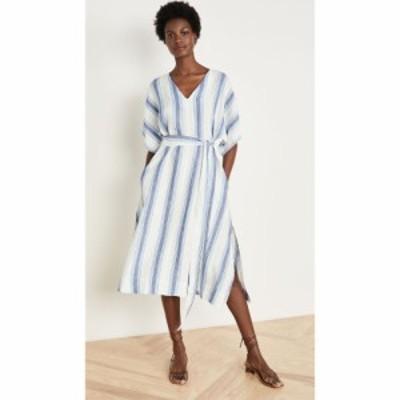 バーズ オブ パラディス Birds of Paradis レディース ワンピース ワンピース・ドレス Hannah Dress Blue Wide Stripe