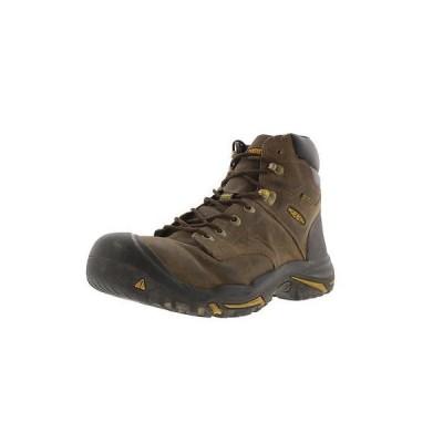 キーン ブーツ シューズ 靴 Keen 1513 メンズ Mt. Vernon ブラウン レザー Work ブーツ シューズ 13 ミディアム (D) BHFO