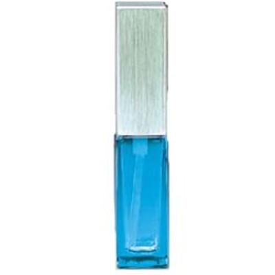 アトマイザー (メタルポンプ)#15493 【スクエアボトル ブルー】4ml[ヤマダアトマイザー]【香水】
