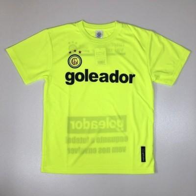 ゴレアドール goleador Basic プラTシャツ(ジュニア) サッカーシャツ G440-FYEL(F.イエロー)