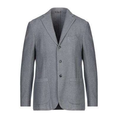 サルトリア・ラトーレ SARTORIA LATORRE テーラードジャケット グレー 50 バージンウール 45% / コットン 45% / ナイロ