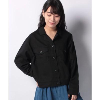【スタイルブロック(レディース)】オープンカラー開襟アウトドアシャツ