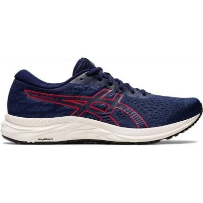 アシックス ASICS メンズ ランニング・ウォーキング シューズ・靴 GEL-Excite 7 Running Shoes 1011A657 peacoat/classic red