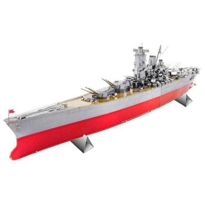立体パズル TEN-T-MP-010M メタリックナノパズル 戦艦大和