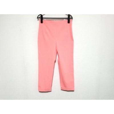 ジルサンダー JILSANDER パンツ サイズ34 XS レディース - ライトピンク クロップド(半端丈)【還元祭対象】【中古】20200911