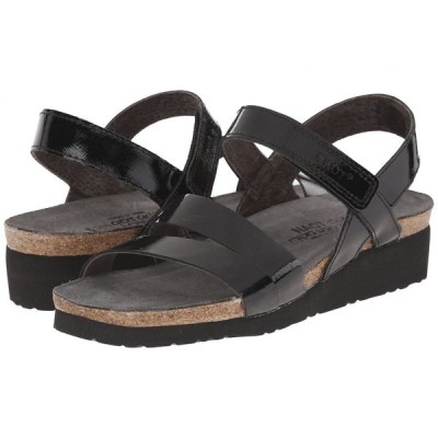 ナオト Naot レディース サンダル・ミュール シューズ・靴 Kayla Black Luster Leather