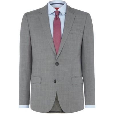 ヒューゴ ボス Hugo メンズ スーツ・ジャケット アウター C-Jeffrey Textured Regular Fit Suit Jacket Grey