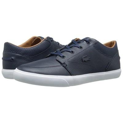 ラコステ Bayliss Vulc Prm メンズ スニーカー 靴 シューズ Dark Blue/Dark Blue