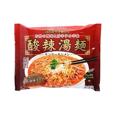 創健社 酸辣湯麺 111g ×5個