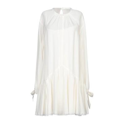プラダ PRADA ミニワンピース&ドレス アイボリー 40 シルク 100% ミニワンピース&ドレス