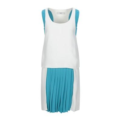 プリングル オブ スコットランド PRINGLE OF SCOTLAND ミニワンピース&ドレス ホワイト 8 レーヨン 89% / ナイロン 9%