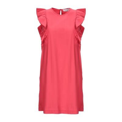 カオス KAOS ミニワンピース&ドレス コーラル 44 コットン 100% ミニワンピース&ドレス