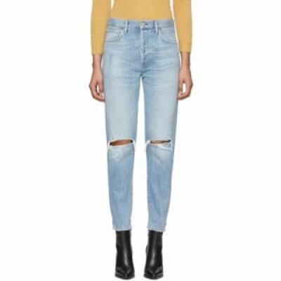 シチズン ジーンズ・デニム Blue Olivia High-Rise Slim Ankle Jeans