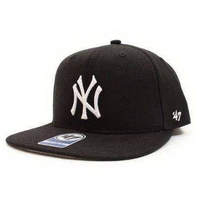 フォーティーセブン ブランド(47 Brand) Yankees Sure Kids キャップ B-SRS17WBP-BK K0 (Jr)