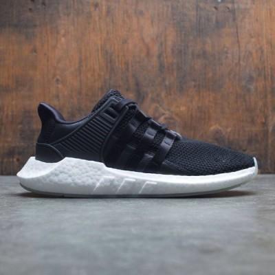 アディダス Adidas メンズ スニーカー シューズ・靴 EQT Support 93/17 black/core black/footwear white