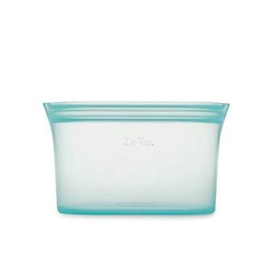 Zip Top シリコン製 保存容器 日本正規品 ディッシュ L 946ml レンジ 食洗器対応 ブルー ジップ トップ
