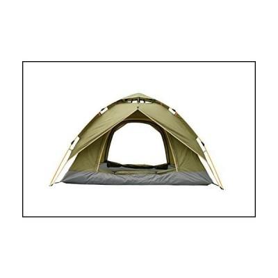 Buha テント キャンプ用 自動油圧式 サンシェルター 4シーズンテント 2〜3人用 ポータブル軽量ポップアッ
