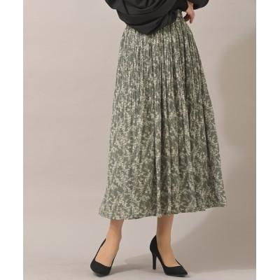 rps / 消しプリーツプリントスカート WOMEN スカート > スカート