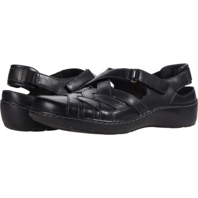 クラークス Clarks レディース サンダル・ミュール シューズ・靴 Cora Dream Black Leather
