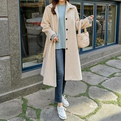 PIPPIN レディース コート Alpha cowl single long coat #65928