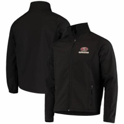 """メンズ ジャケット """"San Francisco 49ers"""" Sonoma Softshell Full-Zip Jacket - Black"""