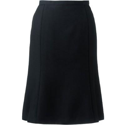 スカート(選べる2シルエット・洗濯機OK、撥水、防汚加工)(事務服)/ブラックB(マーメイド)/64-91