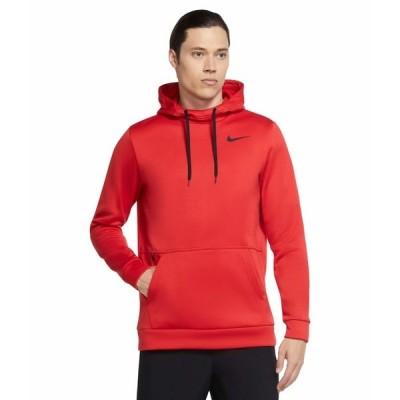 ナイキ パーカー・スウェットシャツ アウター メンズ Therma Hooded Pullover University Red/Black