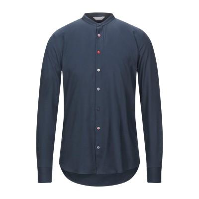 SSEINSE シャツ ダークブルー S コットン 100% シャツ