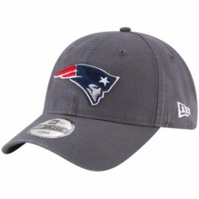 New Era ニュー エラ スポーツ用品  New Era New England Patriots Graphite Core 49FORTY Fitted Hat