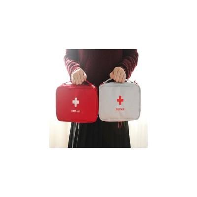 救急箱 救急ポーチ 医療ポーチ レディース メンズ 家庭 外出 収納バッグ 布バッグ 薬箱 薬ボックス 小型 アウトドア 提手付き バッグインバッグ