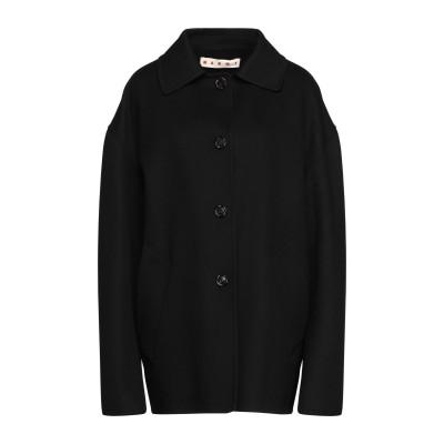 マルニ MARNI コート ブラック 38 バージンウール 85% / カシミヤ 15% コート