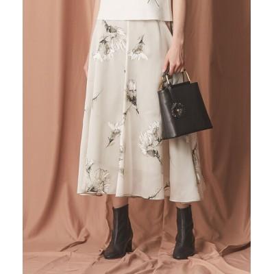 EPOCA THE SHOP / フラワープリントフレアスカート WOMEN スカート > スカート