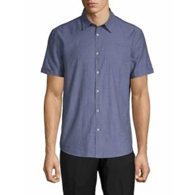 ジョンバルバトススターU.S.A. メンズ カジュアル ボタンダウンシャツ Short Sleeve Woven Shirt