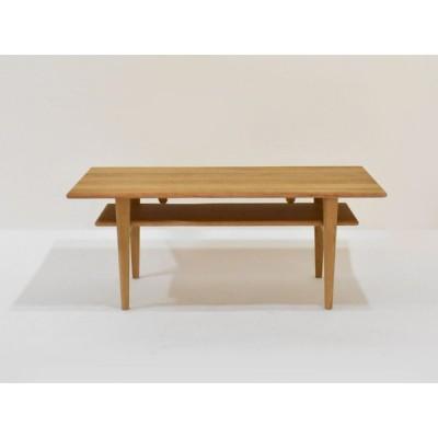 センターテーブル オーサム 105 オーク材ホワイトオーク色 大塚家具(IDC OTSUKA)