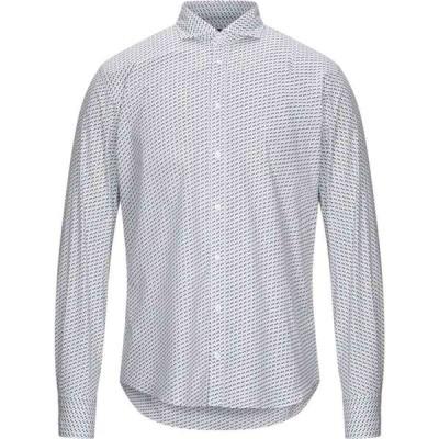 マエストラミ MAESTRAMI メンズ シャツ トップス Patterned Shirt White