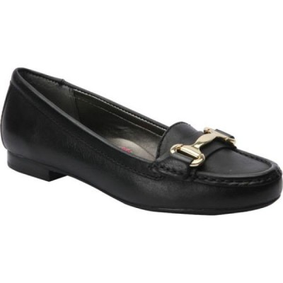ロスホマーソン Ros Hommerson レディース ローファー・オックスフォード シューズ・靴 Regina Loafer Black Leather