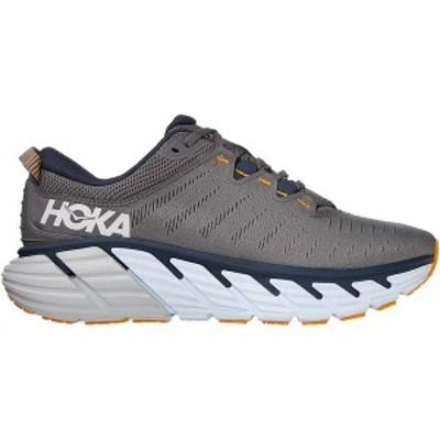 ホッカオネオネ メンズ ランニング スポーツ Gaviota 3 Running Shoe - Men's Charcoal Gray/Ombre Blue