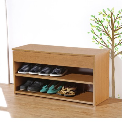 EASY HOME【浪漫滿屋】上掀式收納穿鞋椅