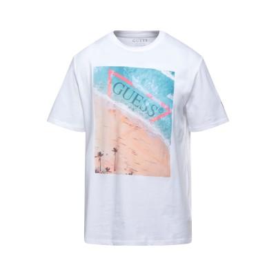 ゲス GUESS T シャツ ホワイト XL コットン 100% T シャツ
