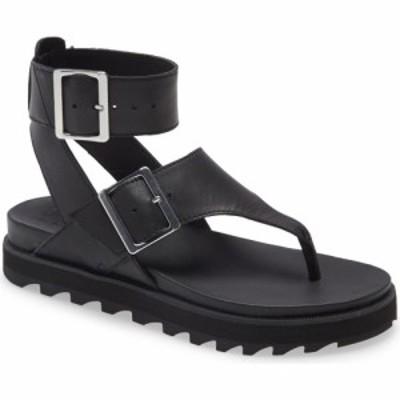ソレル SOREL レディース サンダル・ミュール シューズ・靴 Roaming T-Strap Sandal Black