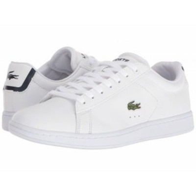 Lacoste ラコステ レディース 女性用 シューズ 靴 スニーカー 運動靴 Carnaby EVO BL 1 White【送料無料】