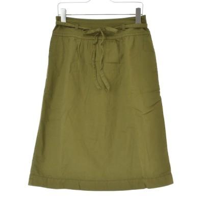 GRIN / グリン ラップデザインロング スカート