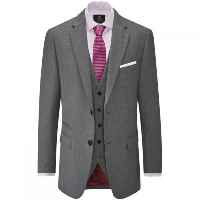 スコープス Skopes メンズ スーツ・ジャケット アウター Hinchcliffe Wool Blend Suit Jacket Charcoal