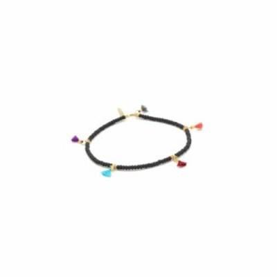 シャシ ブレスレット Lilu Seed Bracelet Black