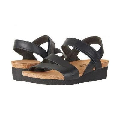 Naot ナオト レディース 女性用 シューズ 靴 サンダル Kayla - Wide - Black Matte Leather