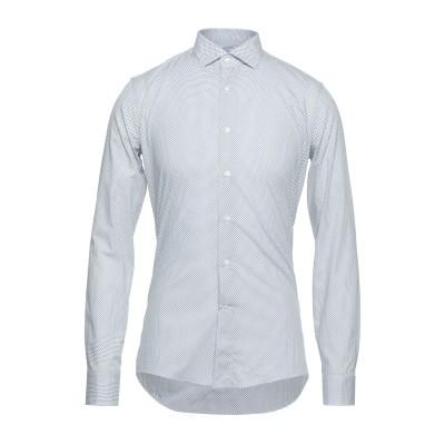 G.V. CONTE シャツ ホワイト 40 コットン 100% シャツ