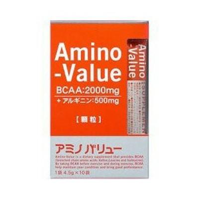 アミノバリュー サプリメントスタイル 4.5g*10袋入 大塚製薬 アミノ酸サプリ BCAA アルギニンサプリ 水なしで飲める ※軽減税率対商品