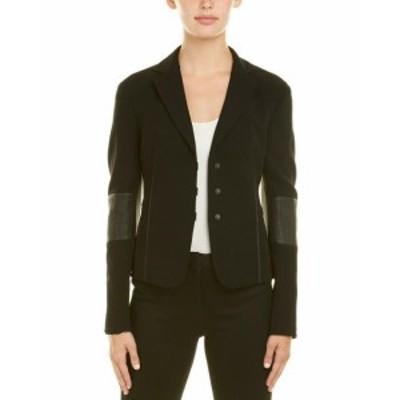 Akris アクリス ファッション 衣類 Akris Wool-Blend Leather-Trim Jacket