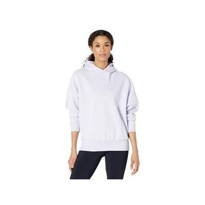 リーボック Studio Fitness Sweatshirt レディース パーカー スウェット フード Luminous Lilac